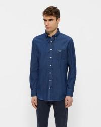 GANT the Indigo denim skjorte
