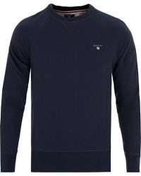GANT The Original Crew Neck Sweatshirt Evening Blue