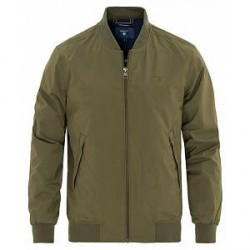 GANT The Pilot Bomber Jacket Kalamata Green