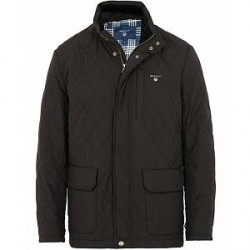 GANT The Quilted City Jacket Black