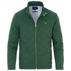 GANT The Quilted Windcheater Jacket Pine Green