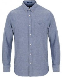 GANT Windblow Flannel Shirt Pursian Blue