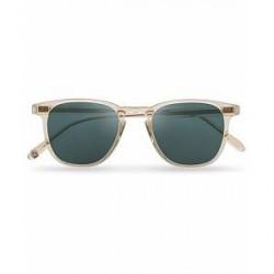 Garrett Leight Brooks 47 Sunglasses Champagne/Blue Smoke