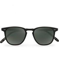 Garrett Leight Brooks 47 Sunglasses Matte Black/Blue Smoke Polarized men One size Sort