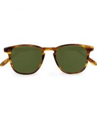 Garrett Leight Brooks 47 Sunglasses Pinewood/Pure Green men One size Brun