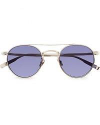 Garrett Leight Limited Edition X Rimowa 49 Sunglasses Flat Navy men One size Sølv