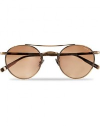 Garrett Leight Limited Edition X Rimowa 49 Sunglasses Flat Sienna men One size Brun