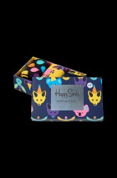 Gaveæske strømper Party Animal Singing Birthday Gift Box, 3-pak