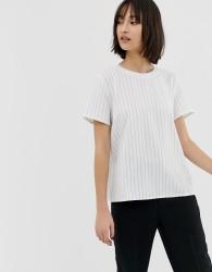 Gestuz Avary stripe top - White