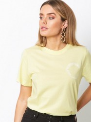 Gestuz Bowi oz top T-shirt Yellow