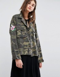 Gestuz Milla Military Jacket - Green