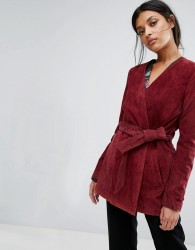 Gestuz Odelia Suede Jacket - Red