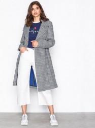 Gestuz Vinne coat Trenchcoats Black/White