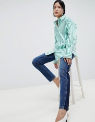 Gestuz Wray Striped Shirt - Green