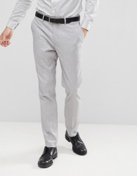 Gianni Feraud Wedding Slim Fit Suit Trousers - Grey