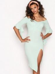Ginger Fizz Such A Babe Dress Kropsnære kjoler Turqoise