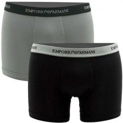 Giorgio Armani Emporio Armani 2-pak Boxer briefs (lange ben) Sort/Grå 111268 CC717 03320