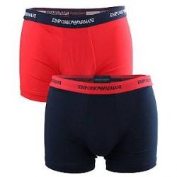 Giorgio Armani Emporio Armani 2-pak Boxer briefs Mørkeblå og Rød 111268 6P717 18335