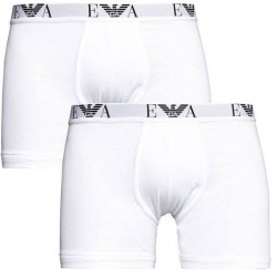 Giorgio Armani Emporio Armani 2-pak. Hvide Boxer Briefs (Standard længde) 111284 CC715 04710