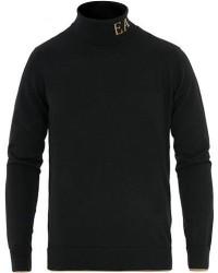 Giorgio Armani Emporio Armani Detailed Polo Black men L