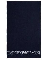 Giorgio Armani Emporio Armani Kæmpe Blåt Strandhåndklæde 211769 9P446 06935