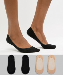 Gipsy 4 pack footsie socks - Multi