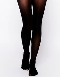 Gipsy 50 Denier Invisible Waistband Shaper Tights - Black