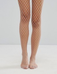 Gipsy Extra Large Fishnet Tights - Pink
