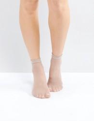 Gipsy Micro Fishnet Sock - Cream