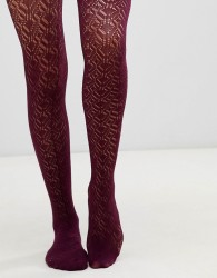 Gipsy Peacock Feather Tights - Navy
