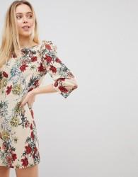 Girls on Film Floral Shift Dress - Multi