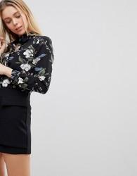 Girls on Film Floral Shirt - Multi