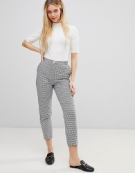 Girls on Film Tailored Trousers in Dogtooth - Multi