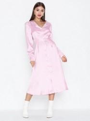 Glamorous Belted Long Sleeve Dress Festkjoler