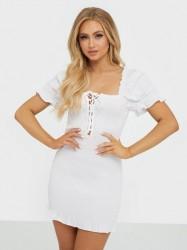 Glamorous Flounce Mini Dress Tætsiddende kjoler