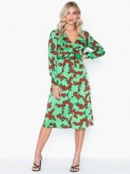 Glamorous V Neck Long Sleeve Dress Maxikjoler