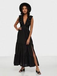 Glamorous V Neck Maxi Printed Dress Maxikjoler