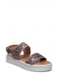 Glitter Flatform Sandal Exp17