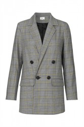 Global Funk - Blazer - Derby Glen Check - Yellow Glen Plaid Check