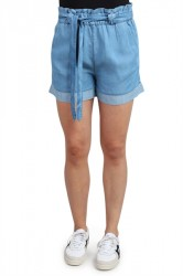 Global Funk - Shorts - Celin Roxeen - Light Blue