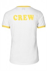 Global Funk - T-shirt - Global Crew - Cyber Yellow
