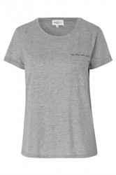 Global Funk - T-shirt - Lavieestbelle Ellie - Grey Melange