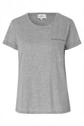 Global Funk - T-shirt - Lavieestbelle Ellie - Grey Melange