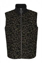 Global Funk - Vest - Intention Cade - Dark Leopard