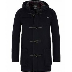 Gloverall Mens Mid Length Duffle Navy