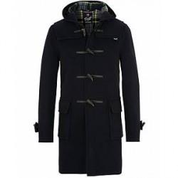 Gloverall Morris Duffle Coat Navy/Dress Gordon