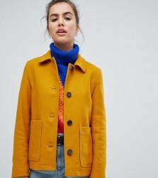 Gloverall Short Coat - Yellow