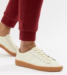 Gola Aztec Leather Trainer - Cream