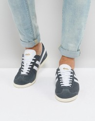Gola Bullet Suede Trainers - Grey