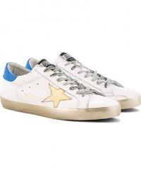Golden Goose Deluxe Brand Gold Sparkle Superstar Sneaker White Calf men 42